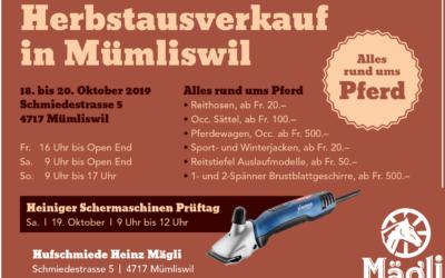 Herbstausverkauf 2019
