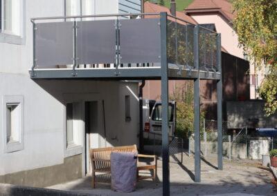 Balkon, Welschenrohr